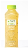 Pure Green Coconut Hydrate Cold Pressed Juice 16oz
