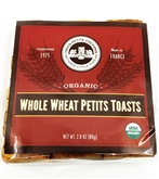 Petit Toast Whole Wheat Organic