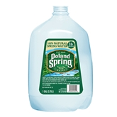 Poland Spring 100% Natural Spring Water (1gallon)