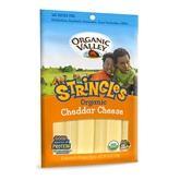 Organic Valley Cheddar Cheese Stringles (6oz.)