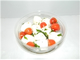 Mozzarella Bocconcini With Cherry Tomato And Basil