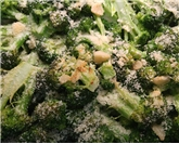 Organic Roasted Broccoli With Lemon & Garlic