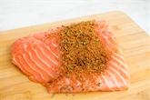 Herb Rubbed Salmon