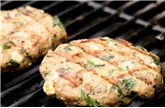 Chicken Burger With Spinach And Feta