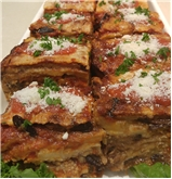 Eggplant Parmigiana (Average weight of 1 piece is 3/4  -1 LB)