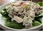 Turkey Salad With Craisins & Roasted Pecans