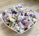 Smoked Ham Salad With Apple & Currants
