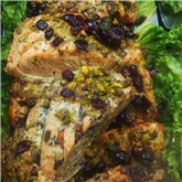 Organic Pistachio Crusted Irish Salmon
