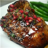 French cut chicken with Pomegranate & Rosemary
