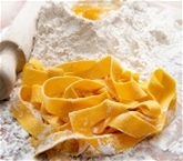 Homemade Hand-Cut Pappardelle