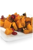 Roasted Butternut Squash With Roasted Pecan & Cranberries
