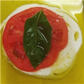 Tomato And Basil Mozzarella (Caprese Salad)