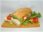 Turkey Swiss Health  Sandwich