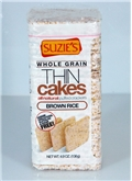 Suzie's Whole Grain Brown Rice Thin Cakes