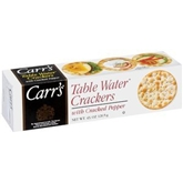 Carrs Crackers - Cracked Black Pepper (4 oz.)
