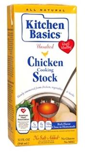 Kitchen Basics Chicken Stock Unsalted 32 Oz