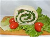 Turkey Pinwheel Sandwich