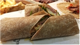 Swedish Ham & Brie Cheese Whole Wheat Wrap