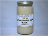 Creamed Spring Blossom Honey Local (16oz.)
