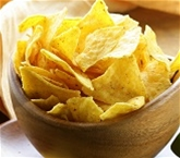 Homemade Yellow Corn Tortilla Chips (1 lb)