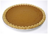 Homemade Pumpkin Pie 9""