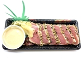 Seared Tuna Sushi with Black Pepper & Fennel (3oz)