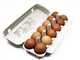A&V Natural Cage Free Large Brown Eggs