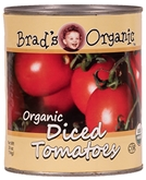 Brad's Org Diced Tomatoes 28Oz