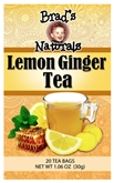 Brad's - Org Lemon Ginger Tea