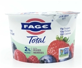 Fage Total 2% Greek Mixed Berries Yogurt (5oz.)