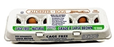 Alderfer Large Cage Free Brown Eggs (1doz)