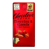 Chocolove Cherries & Almond Dark Chocolate Bar 3oz