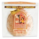 Demascus Bakeries Whole Wheat Pitas (4 Count)