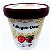Haagen Dazs Strawberry (Pint)