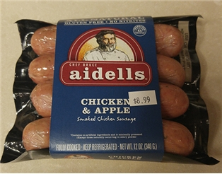 Aidells Organic Chicken And Apple