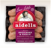 Aidells Chicken & Turkey Sausages W/ Artichoke