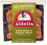 Aidells Habenero & Green Chile Smoked Sausage