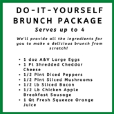 Do It Yourself Brunch Package