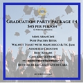 Graduation Party Package 4