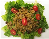 Quinoa Salad with Chopped Romaine Lettuce