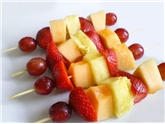 Mini Fruit Skewers