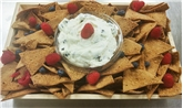 Cannoli Chip & Dip Platter (Small)