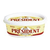 President Beurre Unsalted Butter (250g)