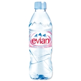 Evian Natural Spring Water (16.9oz.)