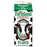 Farmland Dairies 1% Low Fat Milk (1/2 gal.)