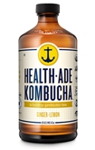 Health Ade Ginger Lemon Kombucha (16oz.)