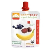 Happy Baby Stage Banana Beets (3.5 oz.)