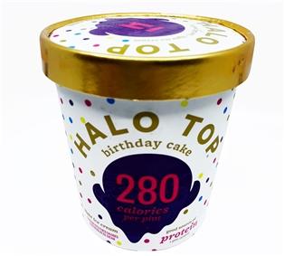 Superb Halo Top Birthday Cake Birthday Cards Printable Nowaargucafe Filternl