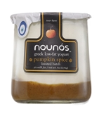 Nounos Low Fat Greek Pumpkin Pie Yogurt (6oz.)