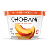 Chobani 0% Peach Greek Yogurt (5oz.)